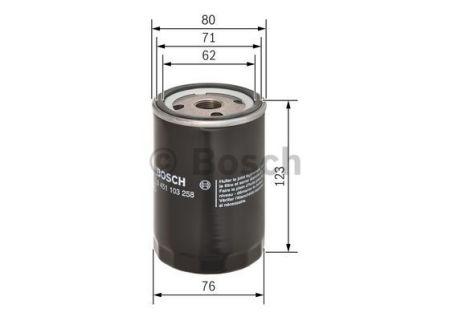 0451103258 BOSCH Масляный фильтр на LDV