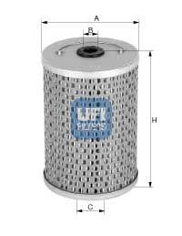 2660400 UFI Топливный фильтр для MAN M