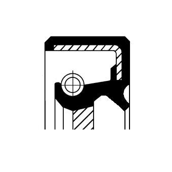 CORTECO COS19016529 Уплотняющее кольцо, коленчатый вал; Уплотняющее кольцо, распределительный вал Купить недорого