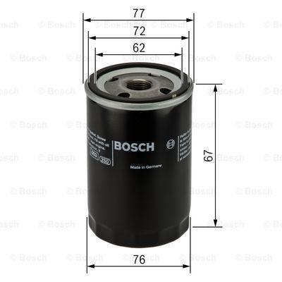 0451103300 BOSCH Масляный фильтр на FIAT