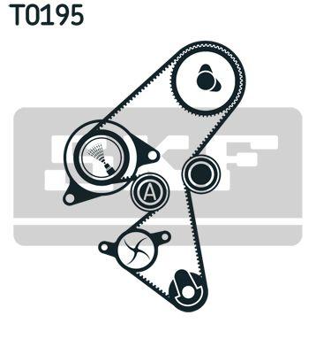SKF VKMA03259 Комплект ремня ГРМ Купить недорого