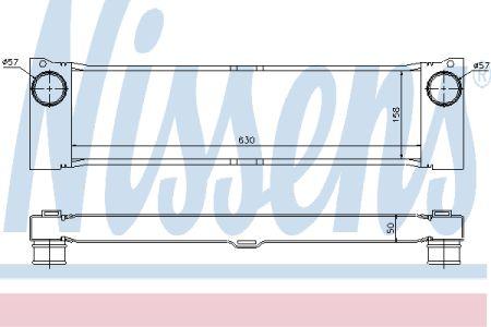 NISSENS NIS96729 Интеркулер MB VIANO W 639(03-)2.0 CDI(+)[OE 639 501 03 01] купить недорого