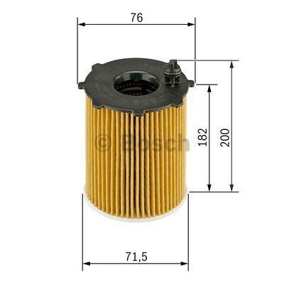 F026407002 BOSCH Масляный фильтр для AUDI Q7