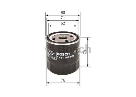 0451102056 BOSCH Масляный фильтр на FORD