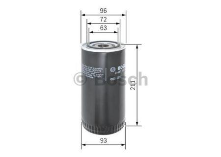 0451105067 BOSCH Масляный фильтр на RENAULT