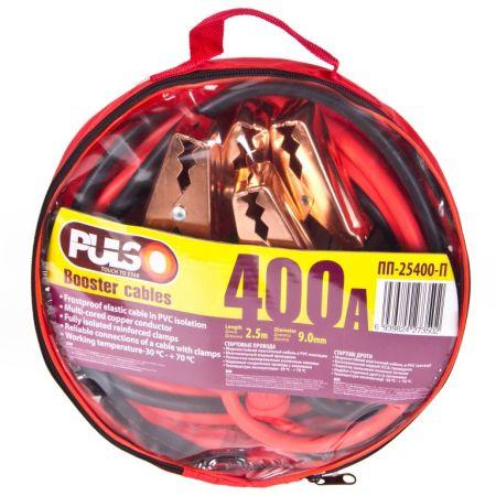 ELIT UNISC25400 Провода для прикуривания  PULSO 400А 2,5м в чехле заказать по низкой цене