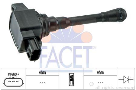 FACET FA96452 Катушка зажигания Купить недорого
