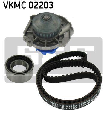 SKF VKMC02203 Водяной насос + комплект зубчатого ремня Купить недорого