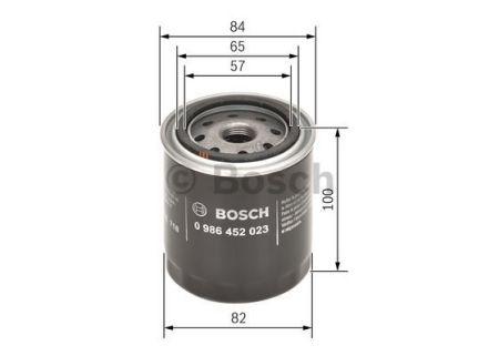 0986452023 BOSCH Масляный фильтр на DAIHATSU