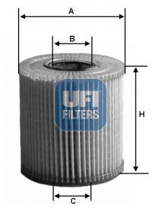 2515300 UFI Масляный фильтр для VW ATLAS