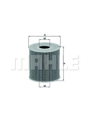 OX3392D KNECHT Масляный фильтр для PEUGEOT 301