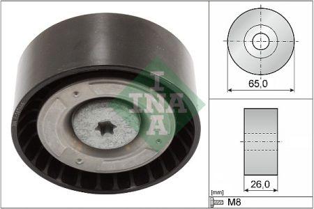 INA 532057110 Паразитный / ведущий ролик, поликлиновой ремень купить недорого