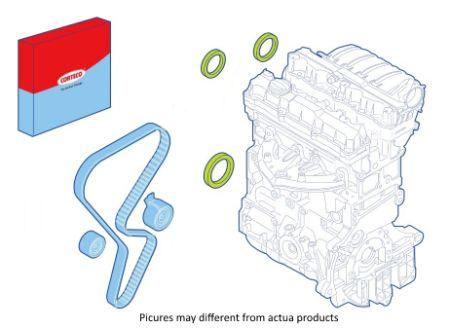 CORTECO COS289114K Состоит: 1 шт ; Уплотнение коленчатого вала / задние 1x заказать по низкой цене