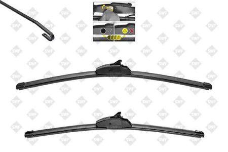 SWF SWF119739 Щетка стек-ля б/к 500+450 VisioFlex -Opel Astra G, Corsa C купить недорого