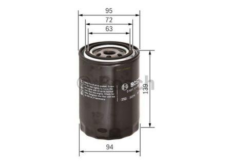 0451104063 BOSCH Масляный фильтр на TOYOTA