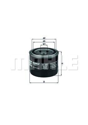 OC230 KNECHT Масляный фильтр для HYUNDAI SONATA