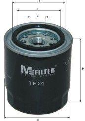 TF24 MFILTER Масляный фильтр для SUBARU FORESTER