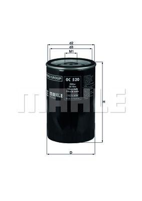 KNECHT OC520 Масляный фильтр купить недорого