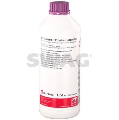 SWAG 99919400 Антифриз SWAG (G12+), фиолетовый, 1,5L заказать по низкой цене