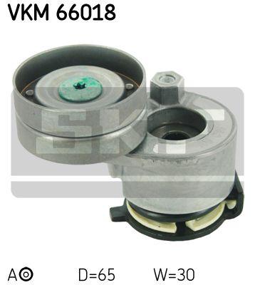 SKF VKM66018 Натяжной ролик, поликлиновой  ремень купить недорого