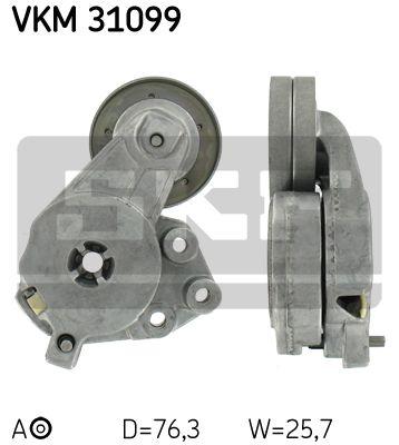 SKF VKM31099 Натяжной ролик, поликлиновой  ремень Купить недорого