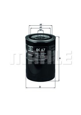 KNECHT OC67 Масляный фильтр; Гидрофильтр, автоматическая коробка передач Купить недорого