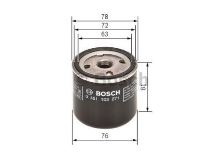 0451103271 BOSCH Масляный фильтр на GAZ