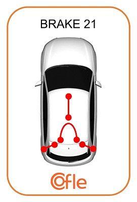 COFLE COF115935 Трос стояночного тормоза заказать по низкой цене