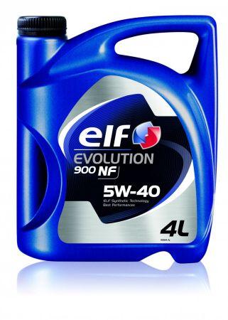 ELF ELF114NF Масло моторное Elf Evolution 900 NF 5W40 / 4л. / (ACEA A3/B4, API SN/CF, VW 502.00/505.00) Купить недорого