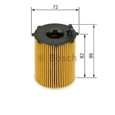 1457429238 BOSCH Масляный фильтр для MAZDA 3