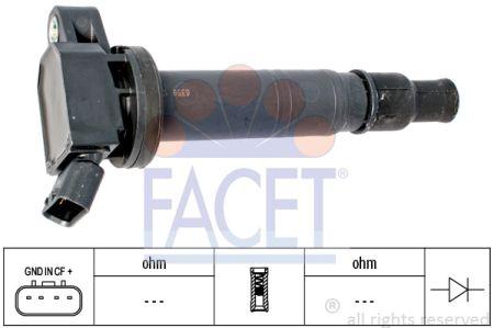 FACET FA96358 Катушка зажигания Купить недорого