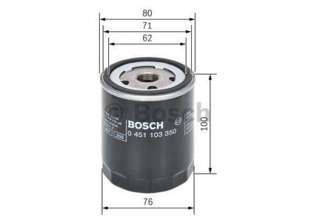 0451103350 BOSCH Масляный фильтр на LANCIA