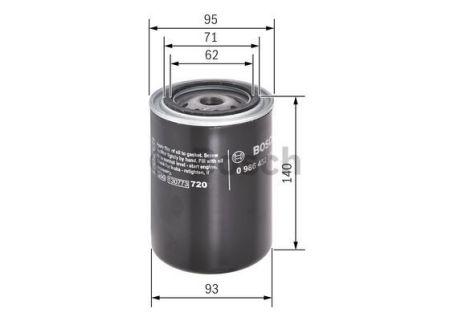 0986452001 BOSCH Масляный фильтр на NISSAN