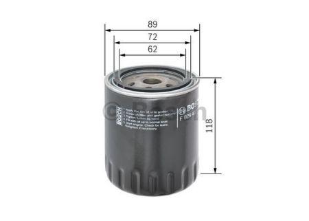 F026407018 BOSCH Масляный фильтр для HYUNDAI ELANTRA