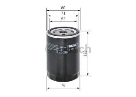 0451103086 BOSCH Масляный фильтр на MAZDA