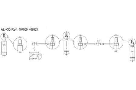 ALKO AL407003 Амортизатор подвески Купить недорого