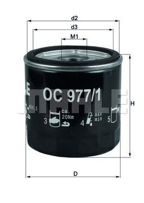 OC9771 KNECHT Масляный фильтр для SKODA SCALA