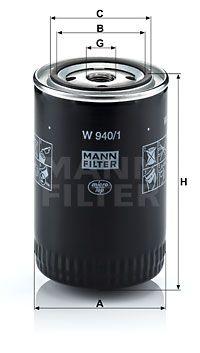 MANN MFW9401 Масляный фильтр Купить недорого
