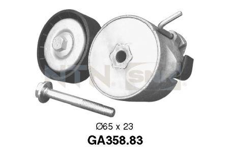 SNR SNRGA35883 Натяжной ролик, поликлиновой  ремень Купить недорого