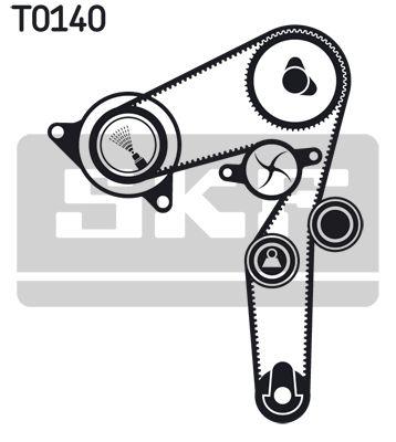 SKF VKMC02174 Водяной насос + комплект зубчатого ремня Купить недорого