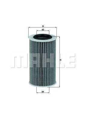 KNECHT OX384D Масляный фильтр заказать по низкой цене