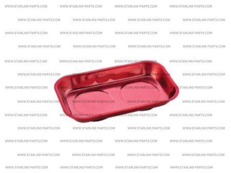 STARLINE SGVAK1022 Магнитная чаша изнержавеющей стали размеры 140х240 мм. Красного  цвета Купить недорого