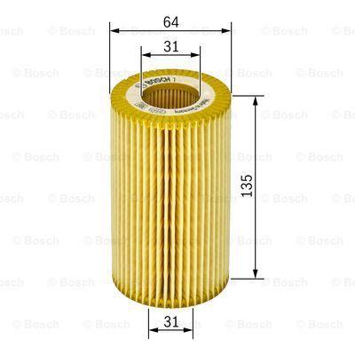 1457429126 BOSCH Масляный фильтр на MERCEDES-BENZ