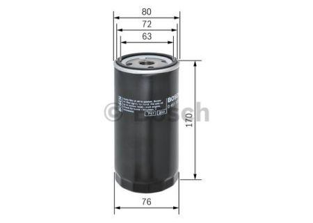 0451103249 BOSCH Масляный фильтр на AUDI