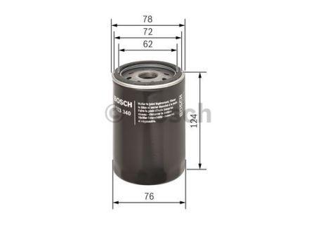 0451103340 BOSCH Масляный фильтр на ROVER
