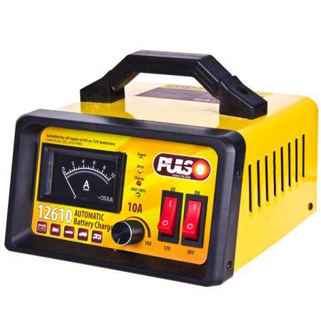 ELIT UNIBC12610 Зарядное устр-во PULSO BC-12610 6-12V/0-10A/10-120AHR/LED-Ампер./Ручная рег-ка заказать по низкой цене