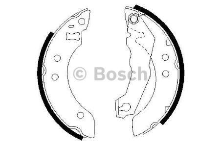BOSCH 0986487035 Тормозные колодки, к-кт. заказать по низкой цене