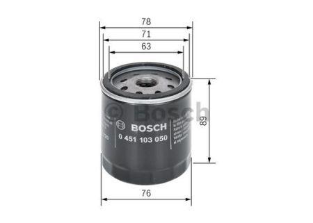 0451103050 BOSCH Масляный фильтр для BMW 5