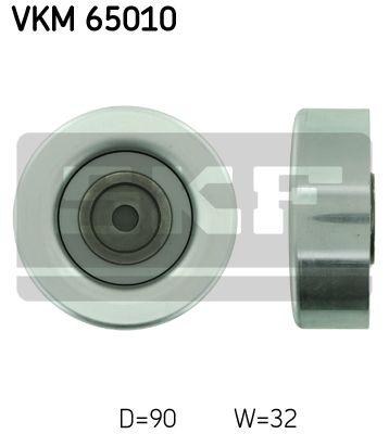 SKF VKM65010 Паразитный / ведущий ролик, поликлиновой ремень купить недорого