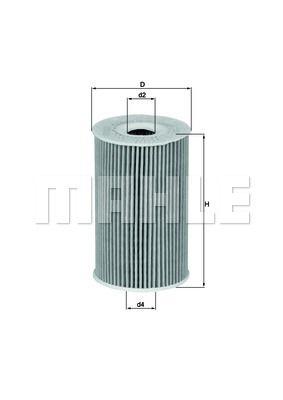 OX351D KNECHT Масляный фильтр для HYUNDAI I30